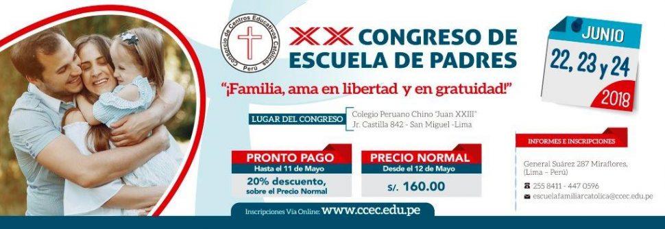 XX Congreso de Escuela de Padres